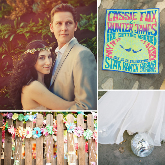 Très is bringing the free-loving spirit back with their roundup of sweet '70s-inspired wedding inspiration.