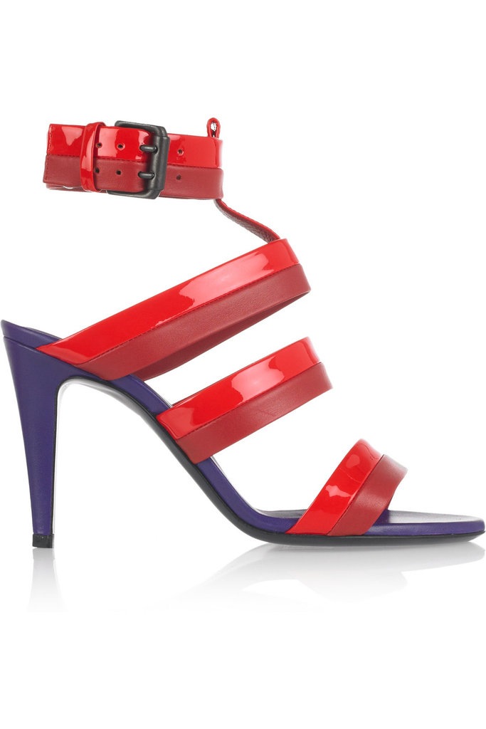 There's nothing sexier than a sleek red sandal, and this three-tone iteration does just the trick. Bottega Veneta Three-Tone Leather Sandals ($340, originally $680)
