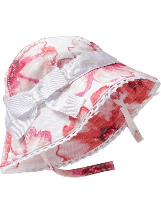 Old Navy Floral-Print Bow-Ribbon Hat ($8, originally $10)