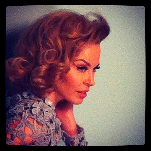 Kylie Minogue got glam for a Glamour UK shoot. Source: Instagram user kylieminogue