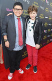 Rico Rodriguez and Nolan Gould
