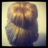 Alison trialled a hair donut. We give you: The Amazing Bun.