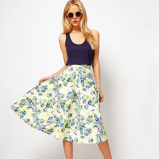 Ten figure-flattering flared dresses and skirts to wear all Summer long.