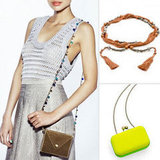Peep this! Kate Bosworth and Cher Coulter expand their JewelMint line with cool clutches and belts.