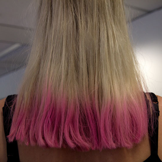 We've Got the Colour Bug: See How Easy It Is to DIY Dip-Dye Your Hair at Home