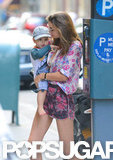 Orlando Bloom and Miranda Kerr Plant Big NYC Kisses on Flynn