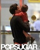 Orlando Bloom and Miranda Kerr Plant Big NYC Kisses on Flynn