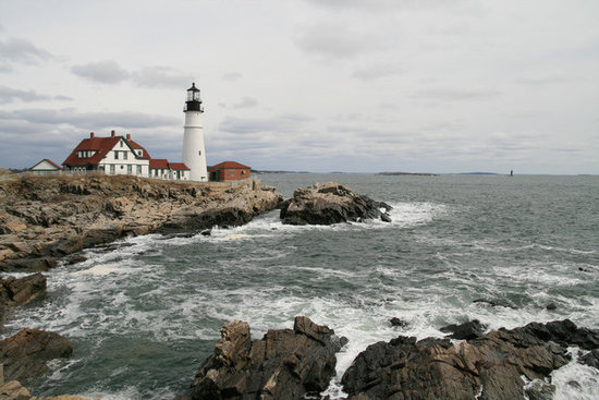 Portland Head Lighthouse: Cape Elizabeth, ME