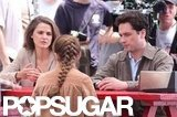 Keri Russell Goes '80s During a Hot Day on Set