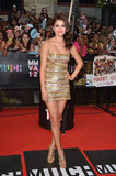 Selena Gomez showed off her legs in a gold minidress at the MuchMusic Video Awards in Toronto.