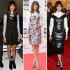 Alexa Chung Dress Over Shirt Style
