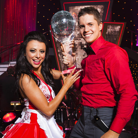 Johnny Ruffo Wins Dancing With the Stars 2012