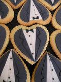 Tuxedo Cookies