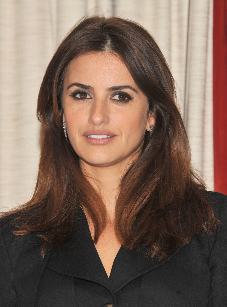 Penélope Cruz posed at a To Rome With Love press event in NYC.