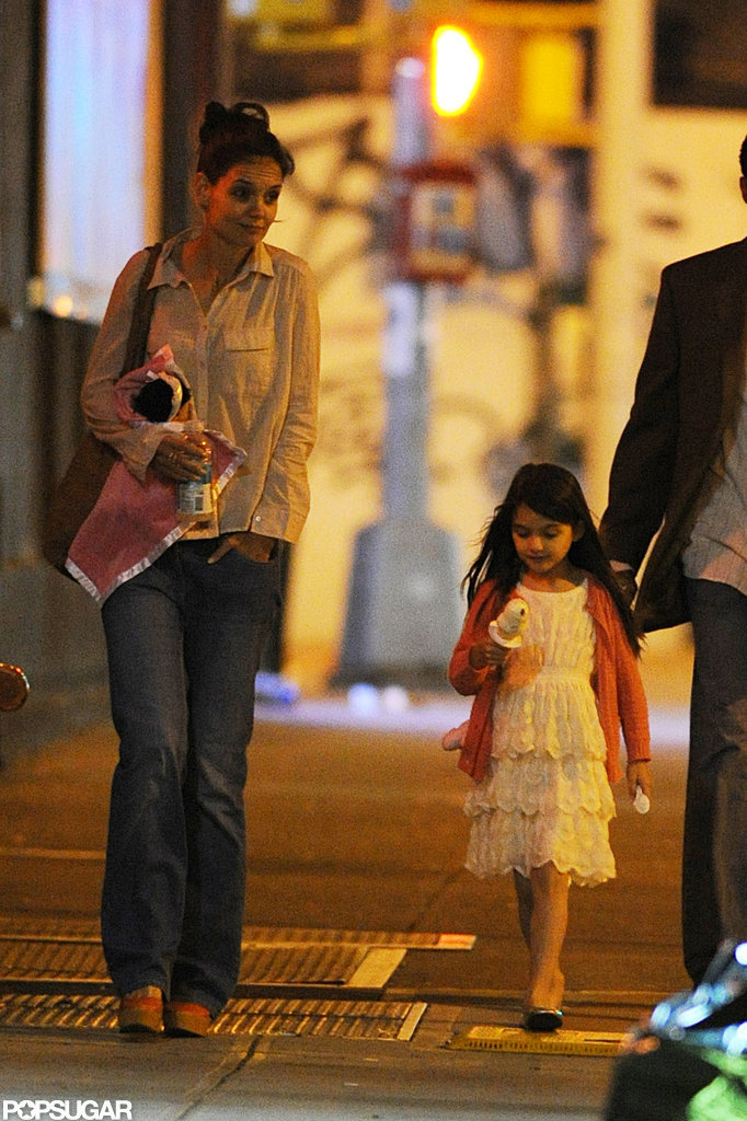 Katie Holmes and Suri Cruise got ice cream in NYC.