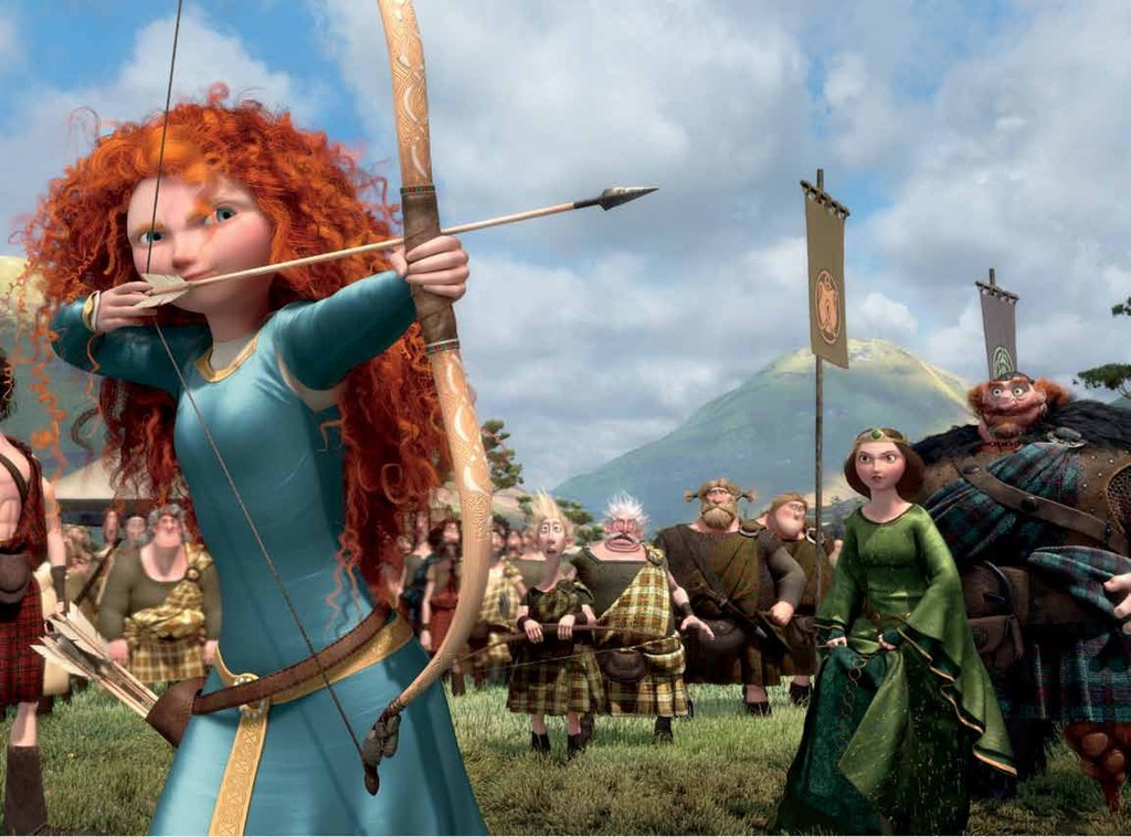 Princess Merida, Brave