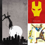 Ka-Pow! — Playful Superhero Prints For Creative Comic Fans