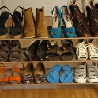 How To Organise Your Shoe Closet: Video