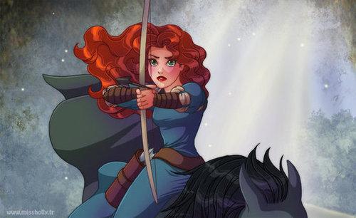 Classic Princess Merida