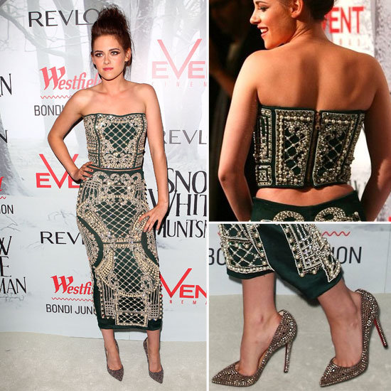 Kristen Stewart Goes Sexy in Balmain at the Snow White and the Huntsman Premiere in Sydney