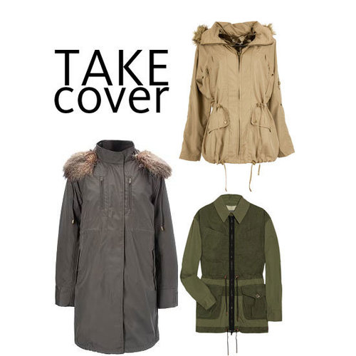 Top Ten Anoraks and Army Jackets Online: We Edit This Winter Wardrobe Essential from Topshop to Dotti to