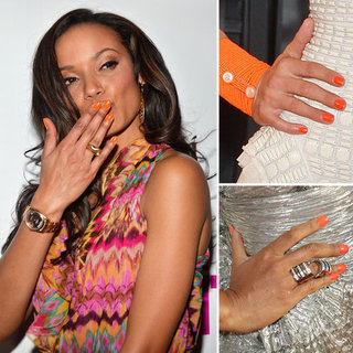 Orange Nail Polish Trend, Summer 2012