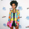 Celebrities in Colorful Printed Jackets