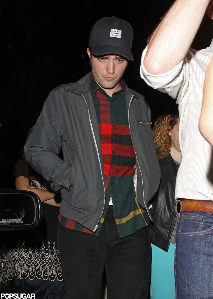 Robert Pattinson was out in LA to watch his friend play a gig.