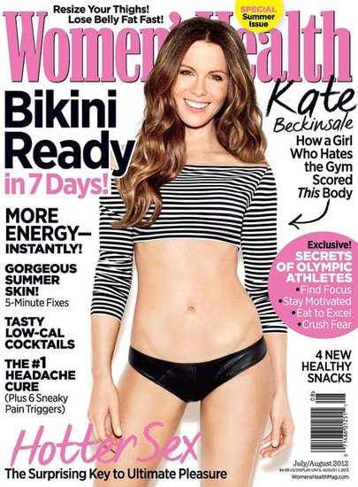 Kate Beckinsale Women&#039;s Health Pictures
