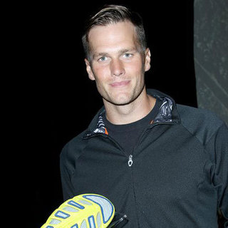 Tom Brady Pictures at Under Armour Spine Launch