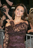 Penelope Cruz screened To Rome With Love at NYC's Paris Theatre.