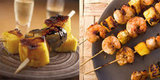 Grilled Pineapple Skewers — 2 Ways