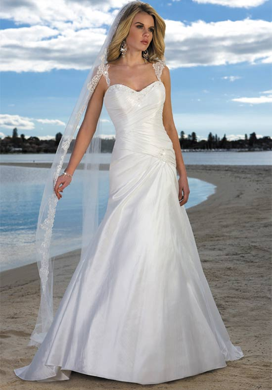 wedding trend ideas beach wedding dresses