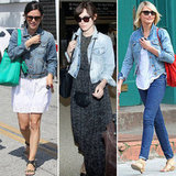 Celebrities Show How to Work the Denim Jacket For Summer