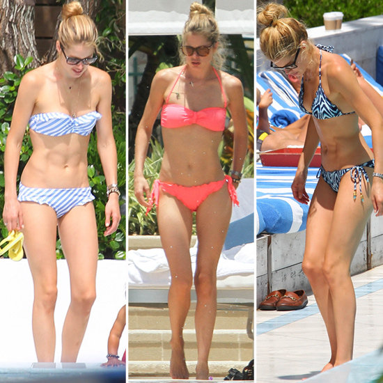 Doutzen Kroes Heats Up Miami in 3 Chic (and Affordable!) Bikinis