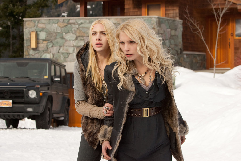 Casey LaBow as Kate and MyAnna Buring as Tanya in Breaking Dawn Part 2.