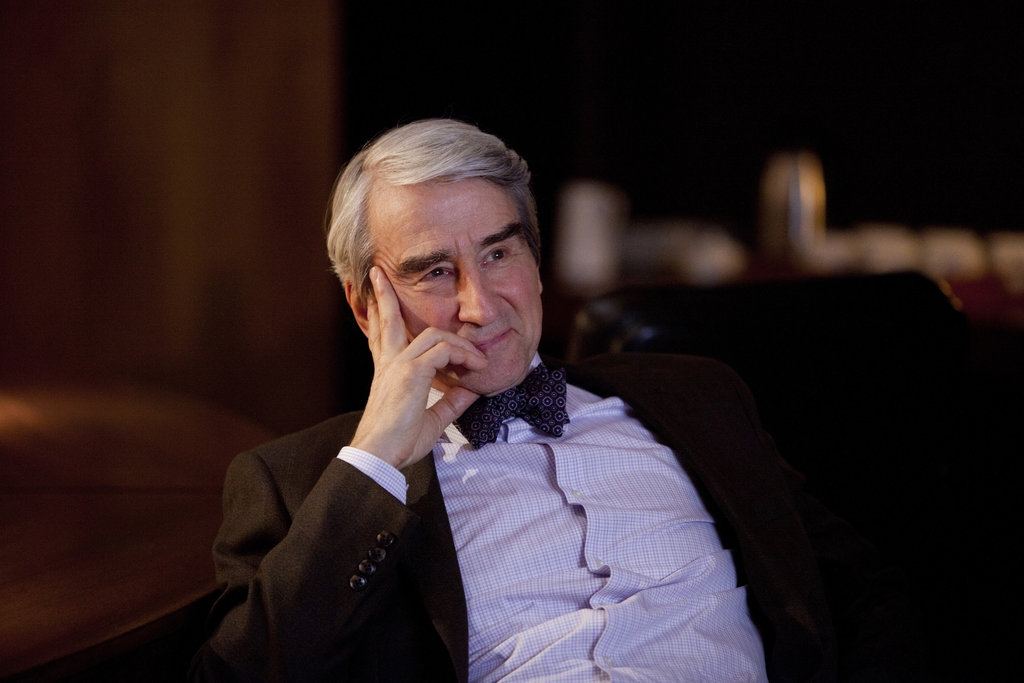 Sam Waterston on The Newsroom.