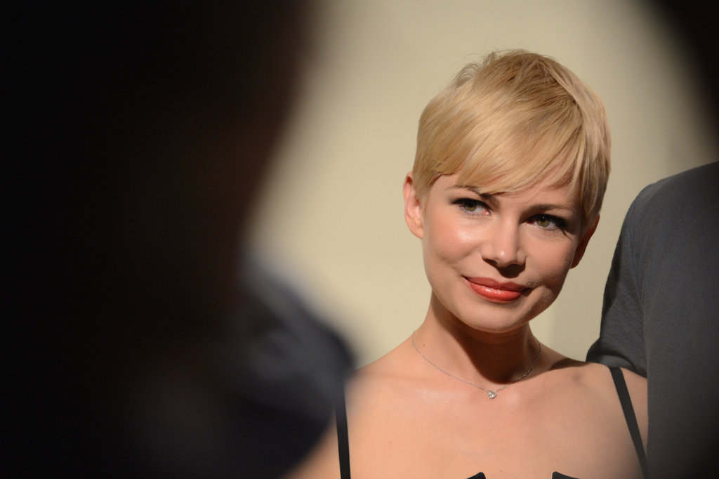 Michelle Williams posed.
