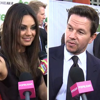 Mila Kunis Mark Wahlberg Ted Premiere (Video)