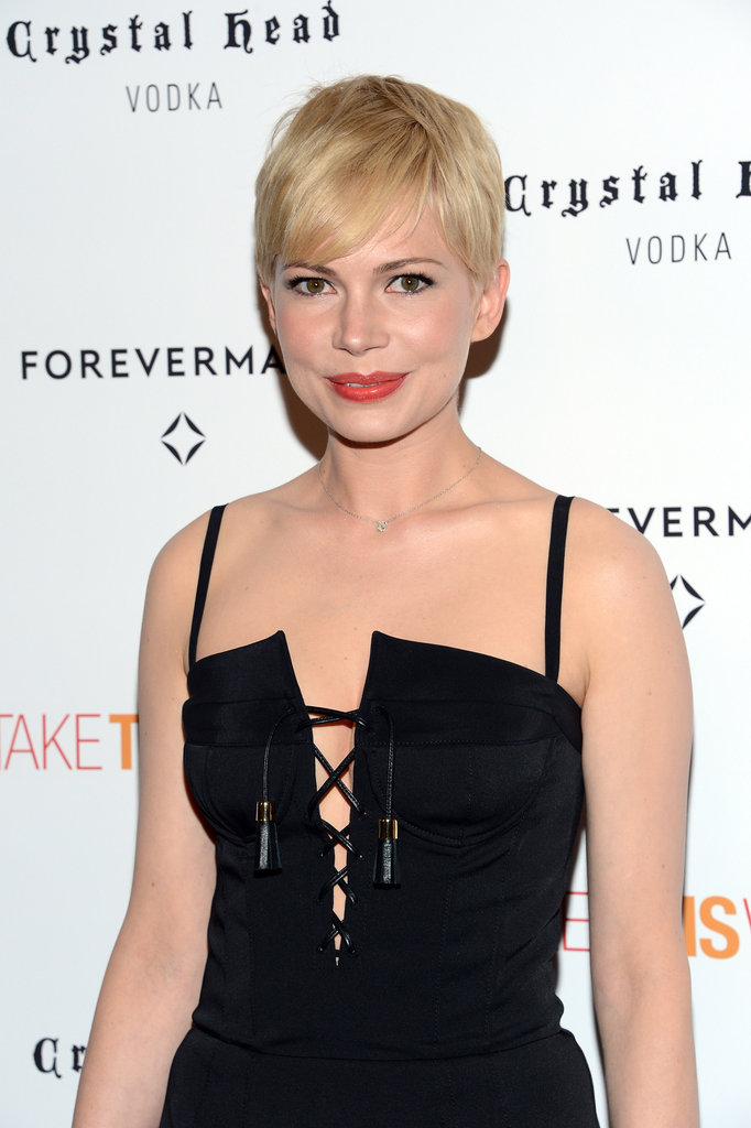 Michelle Williams wore Altuzarra in NYC.