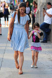 Katie Holmes and Suri Cruise walked out of Whole Foods.