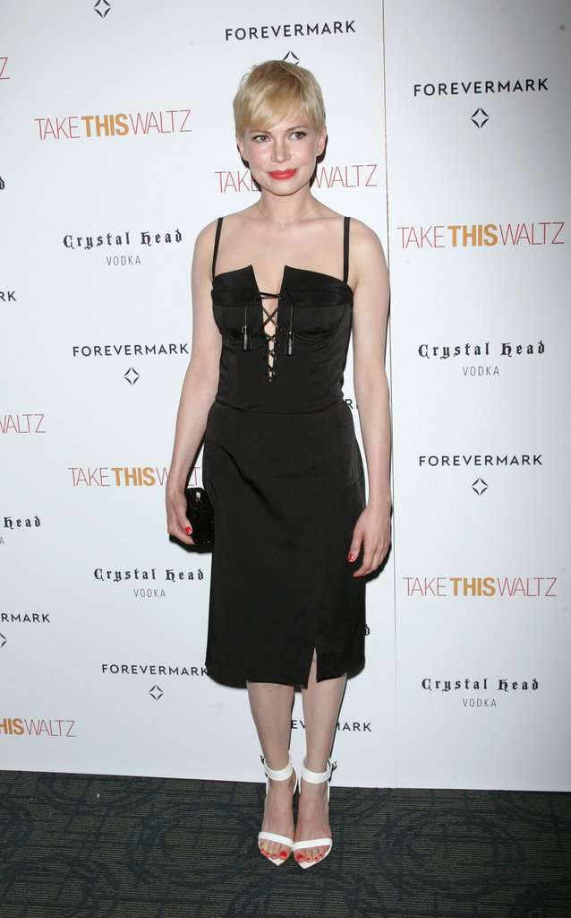 Michelle Williams premiered Take This Waltz.