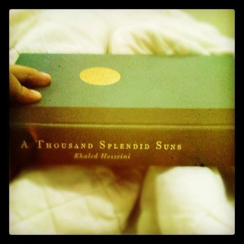 Lady_carmina shares her book of the moment, A Thousand Splendid Suns.