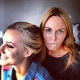 Charlotte Dawson and Laura Dundovic got red carpet-ready for the ASTRA Awards. Source: Instagram user mscharlotted