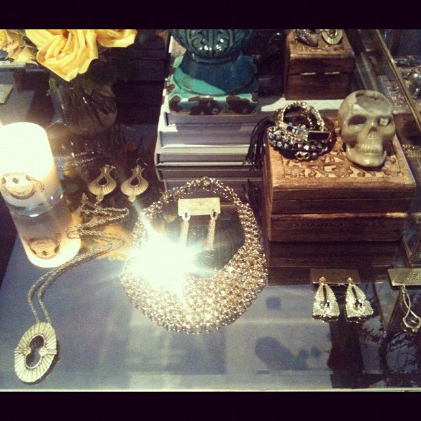 Fab editor Ali went to the Samantha Wills showing. Drool...