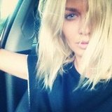 Lara Bingle showed off her baby blues. Source: Instagram user mslarabingle