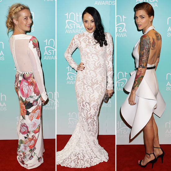 Frockwatch: All The Red Carpet Style from the 2012 Astra Awards