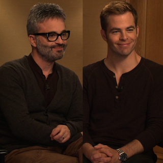 Chris Pine, Alex Kurtzman People Like Us Interview (Video)