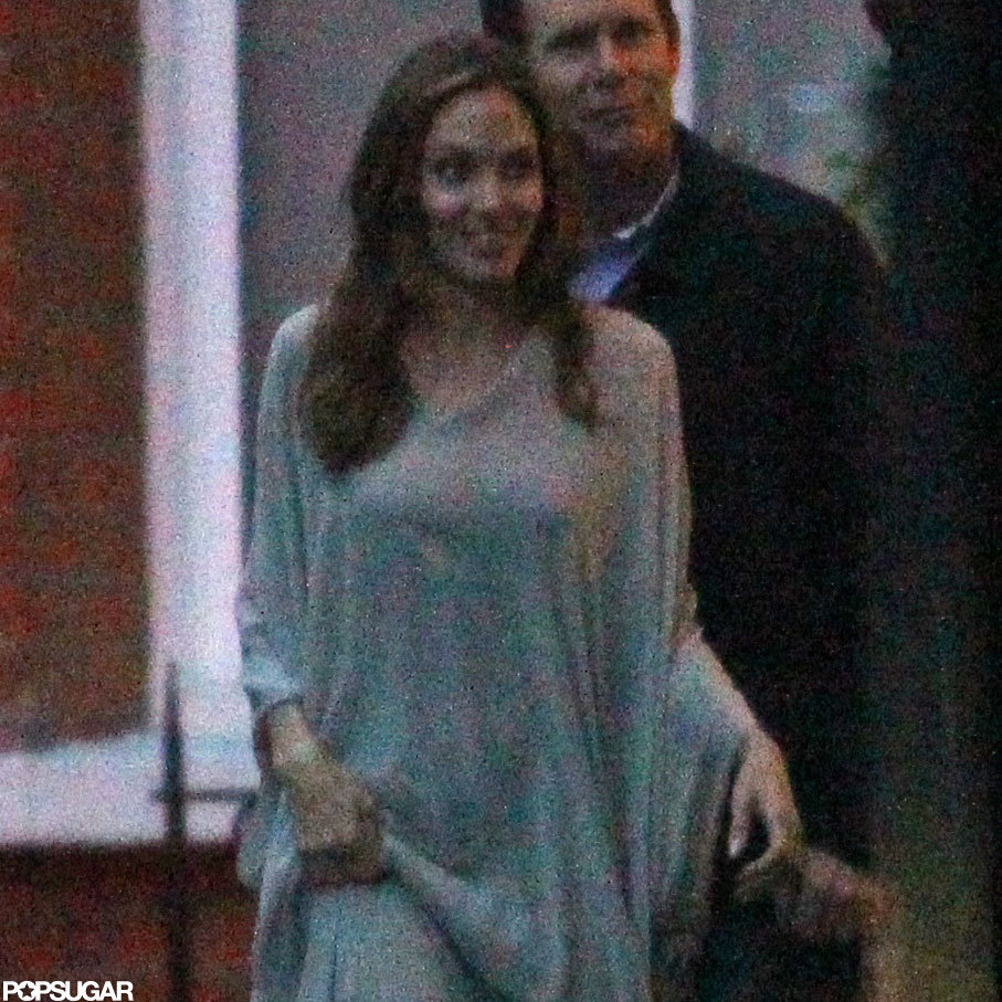 Angelina Jolie stepped out in London.