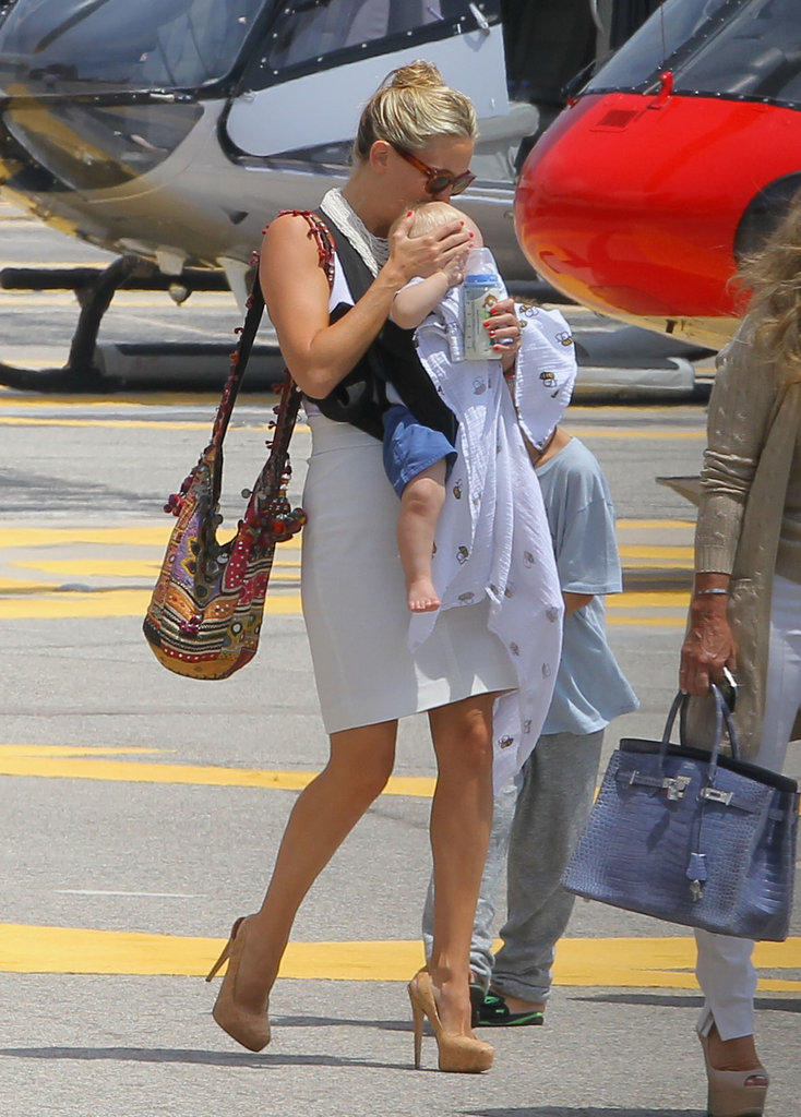 Kate Hudson Has Bikini Time With Baby Bingham!